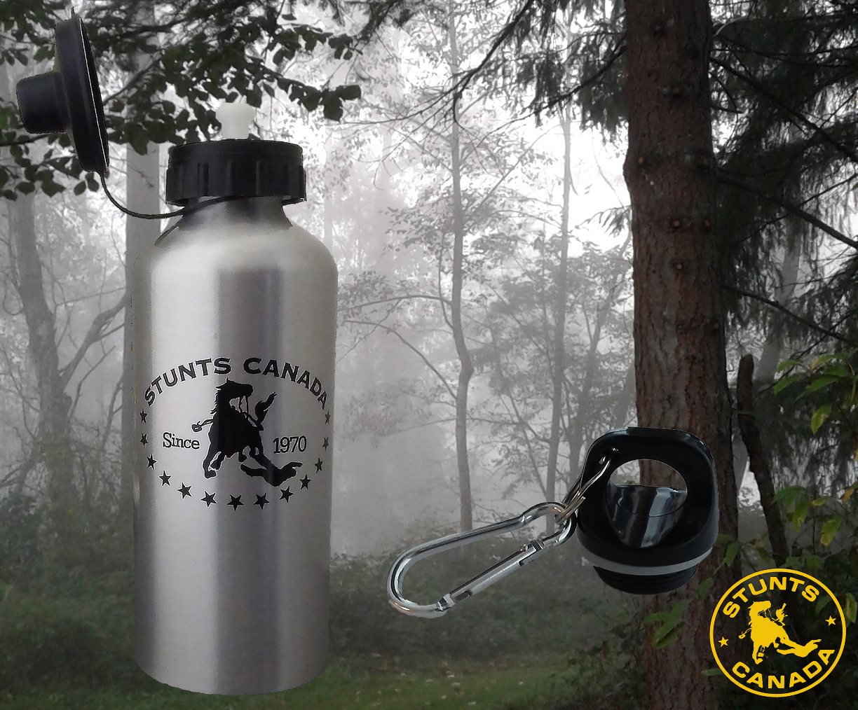 Stunts Canada Water Bottle – $15