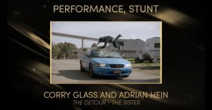 CONGRATULATIONS TO CORRY GLASS & ADRIAN HEIN ON THEIR 2020 UBCP/ACTRA AWARDS WIN!